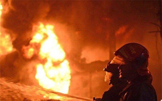 آتش سوزی لوازم انباشته شده در کانال تهویه بازار شیخ صفی اطفاء شد