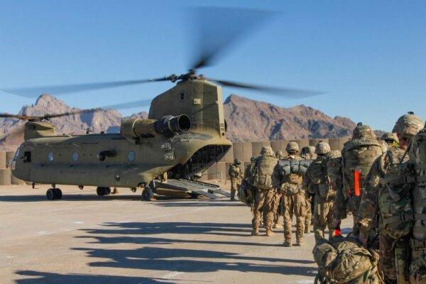 ترامپ خروج نظامیان آمریکا از عراق و افغانستان را اعلام می کند