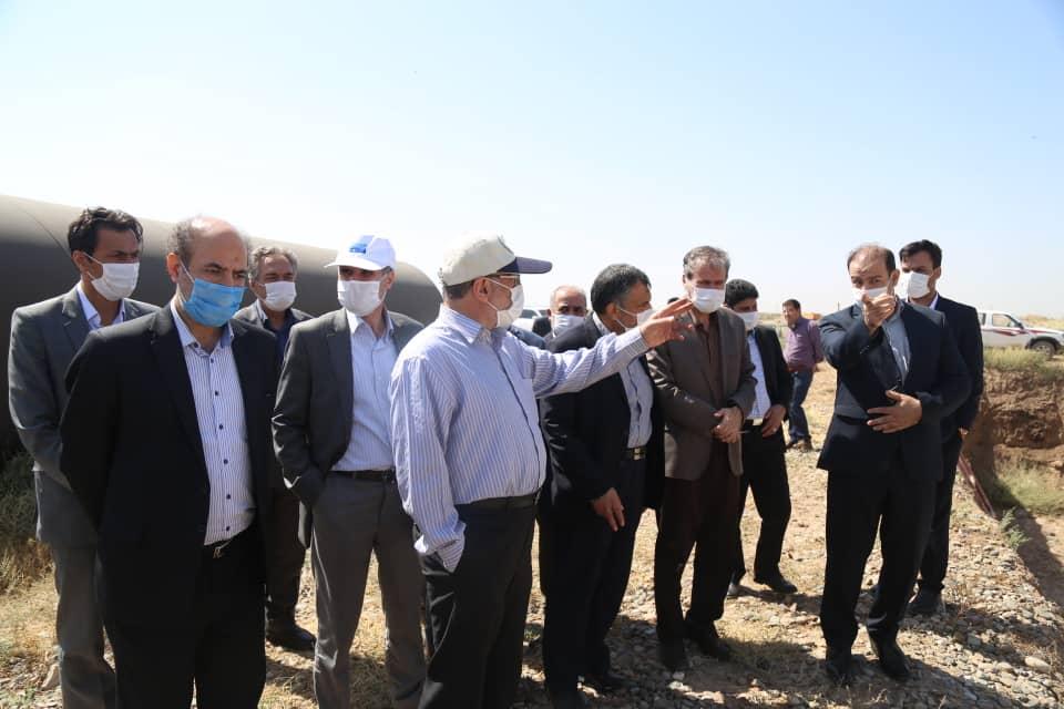 بهره برداری از تونل انتقال آب زاب به دریاچه ارومیه در دی ماه جاری