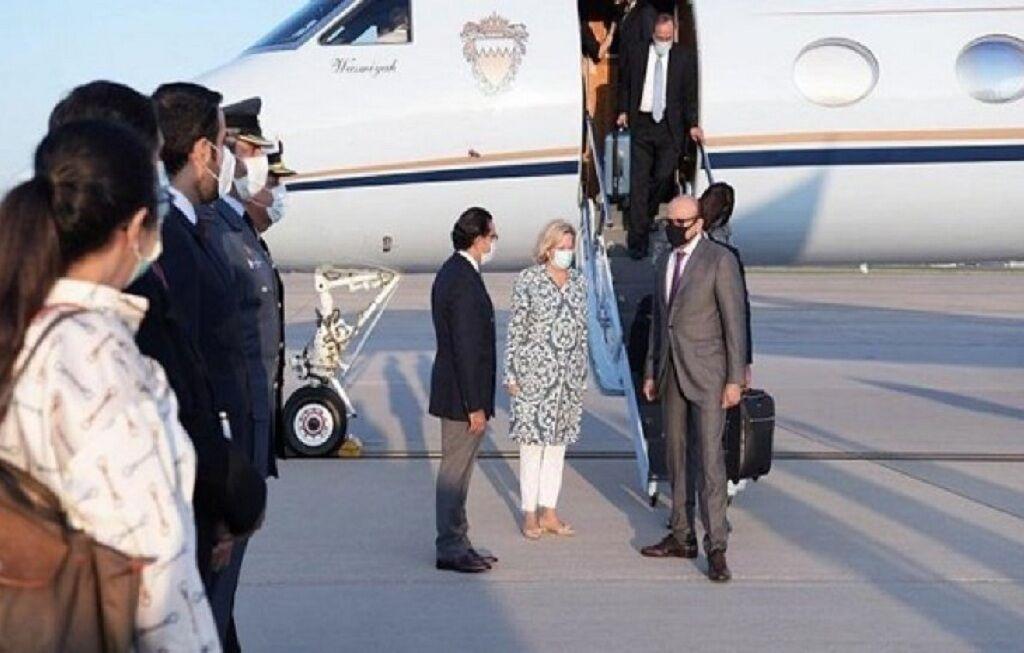 استقبال تحقیرآمیز از وزیر امور خارجه بحرین در آمریکا