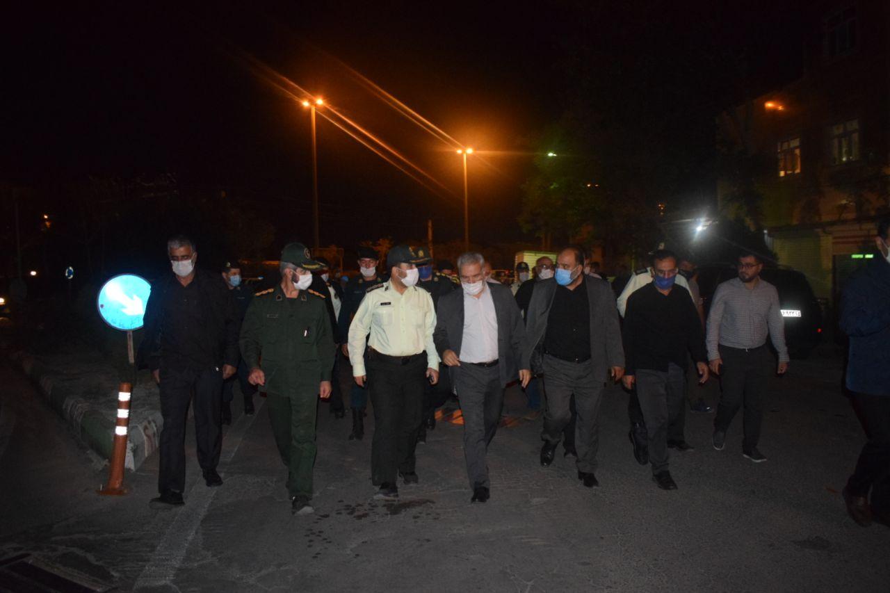 بازدید فرماندار تبریز از محل حادثه سقوط پسر بچه ۱۱ ساله در مسیر کانال کشی