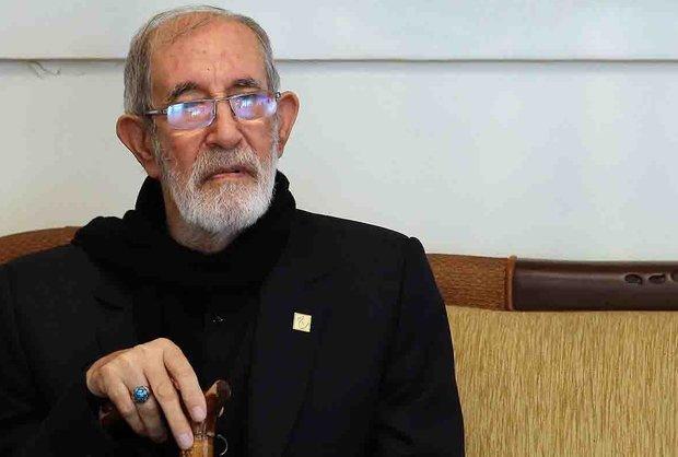مداحی مرحوم حاج فیروز زیرک کار در مراسم ختم استاد شهریار