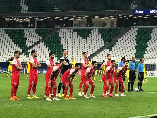 ترکیب پرسپولیس برای دیدار با تیم فوتبال التعاون عربستان اعلام شد