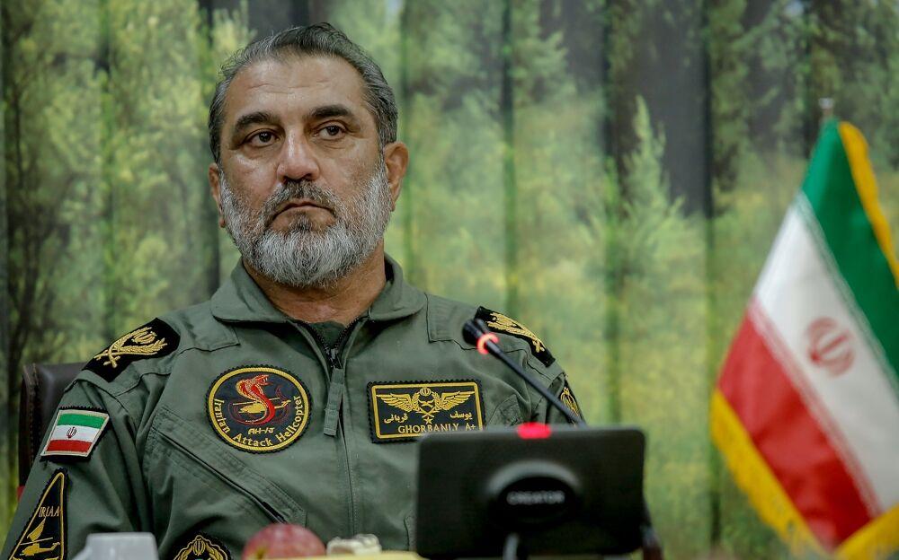 فرمانده هوانیروز ارتش: برای تولید قطعات به کشوری نیاز نداریم