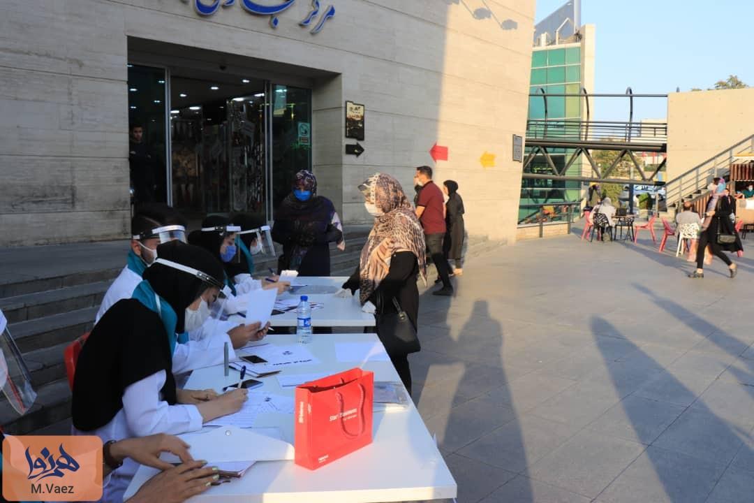 آغاز کمپین ماسک کووید در تبریز