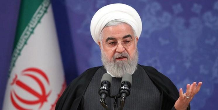 روحانی: آدرس غلط ندهید، ریشه مشکلات «واشنگتن دیسی» است/ مجازات برای کسانی که ماسک ندارند