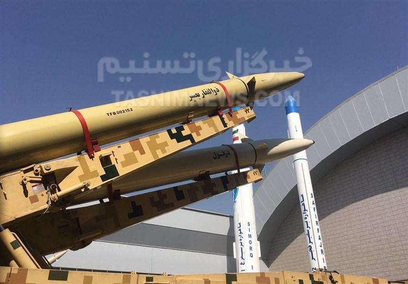 موشک جدید سپاه رونمایی شد/ ذوالفقار بصیر؛ جدیدترین بالستیک دریایی با برد ۷۰۰ کیلومتر