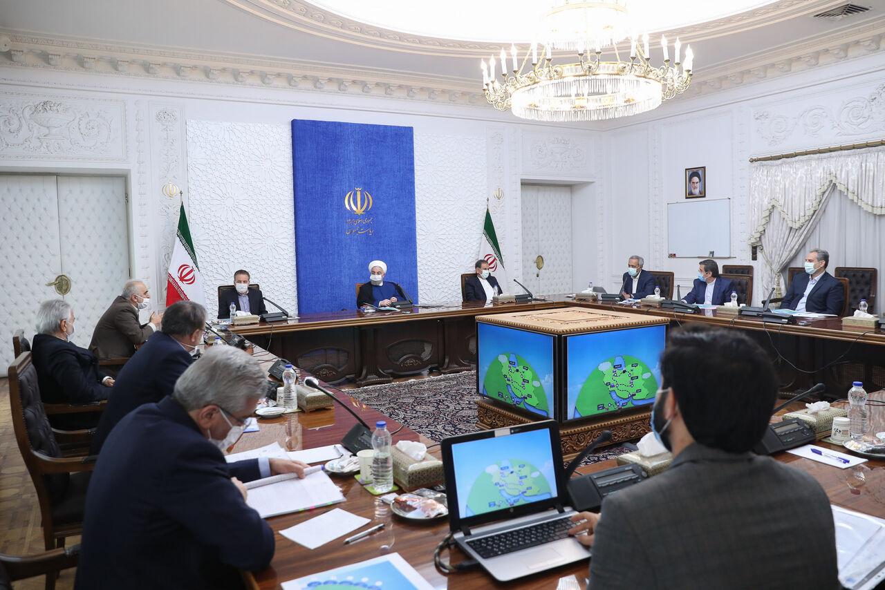 روحانی: وزارت صمت اطلاعات زنجیره تامین و توزیع کالا را در دسترس همگان قرار دهد