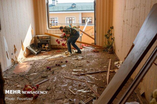 اصابت مجدد راکت جنگی به یک واحد مسکونی روستایی در خداآفرین