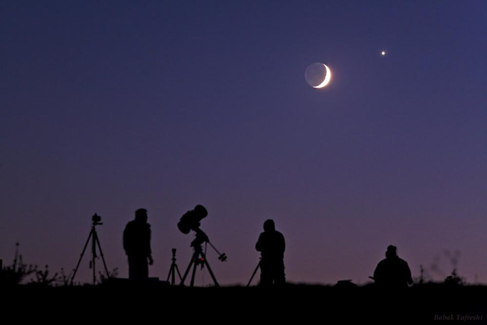 امشب رصد همنشینی ماه و مشتری را از دست ندهید