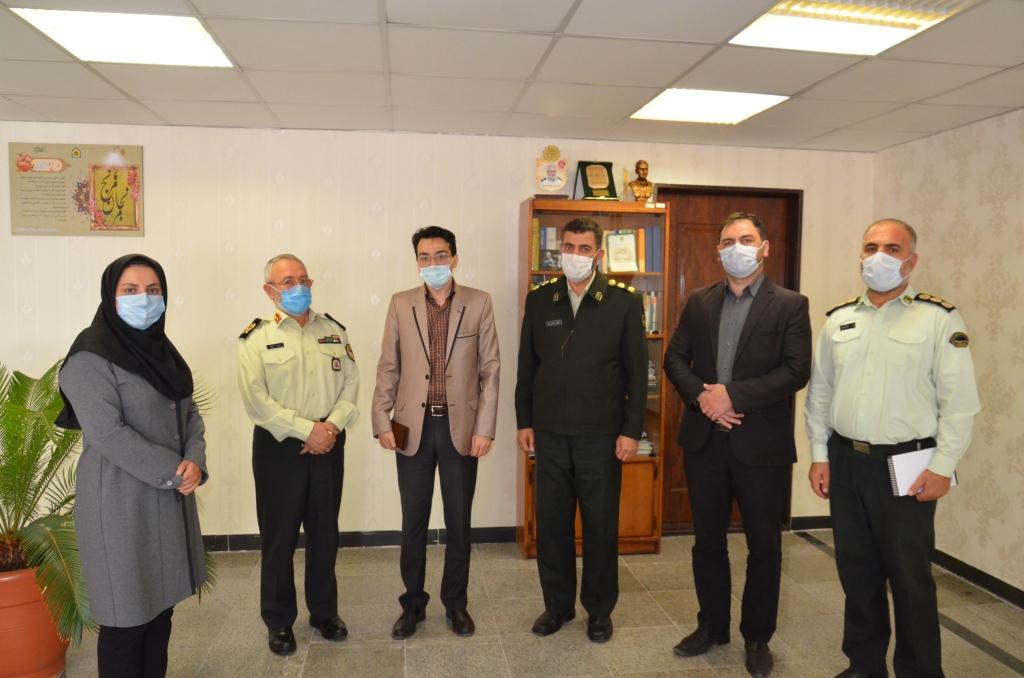 فرمانده ناجا آذربایجانشرقی: آماده برگزاری دوره های آموزشی مشترک با خانه مطبوعات استان هستیم