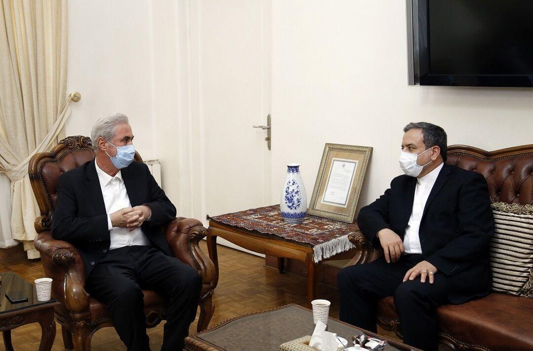 عراقچی: ایران طرح ابتکاری برای حل مسالمت آمیز جنگ قره باغ دارد