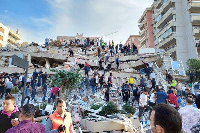وقوع زلزله مهیب در ترکیه/ مصدومیت دست کم ۱۲۰ نفر