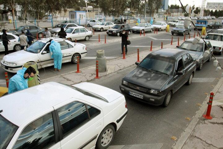 محدودیت رفتوآمد در ۲۵ مرکز استان از ظهر دوشنبه اعمال میشود