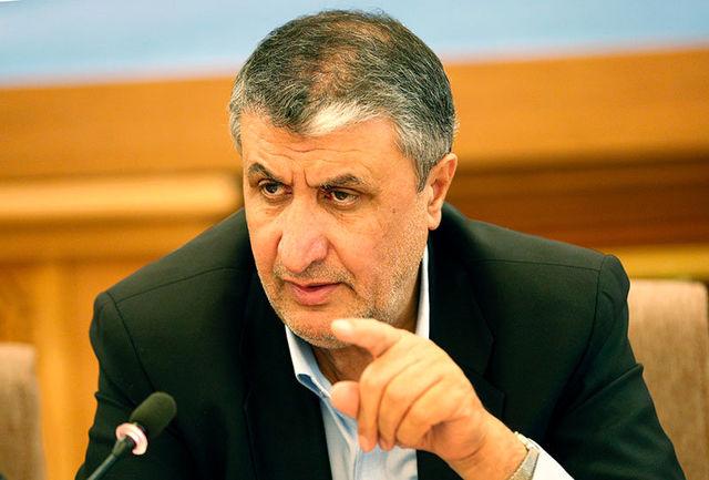 وزیر راه: راهآهن ایران- افغانستان تا چند هفته دیگر افتتاح میشود