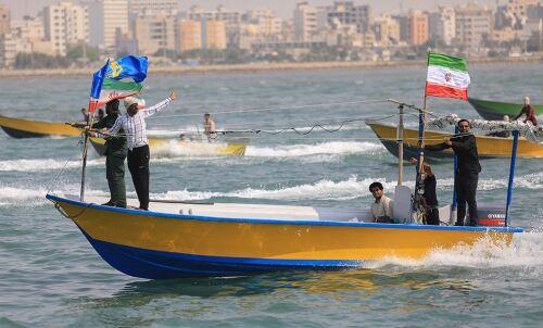 رزمایش بسیج دریایی در آبهای خلیج فارس برگزار شد