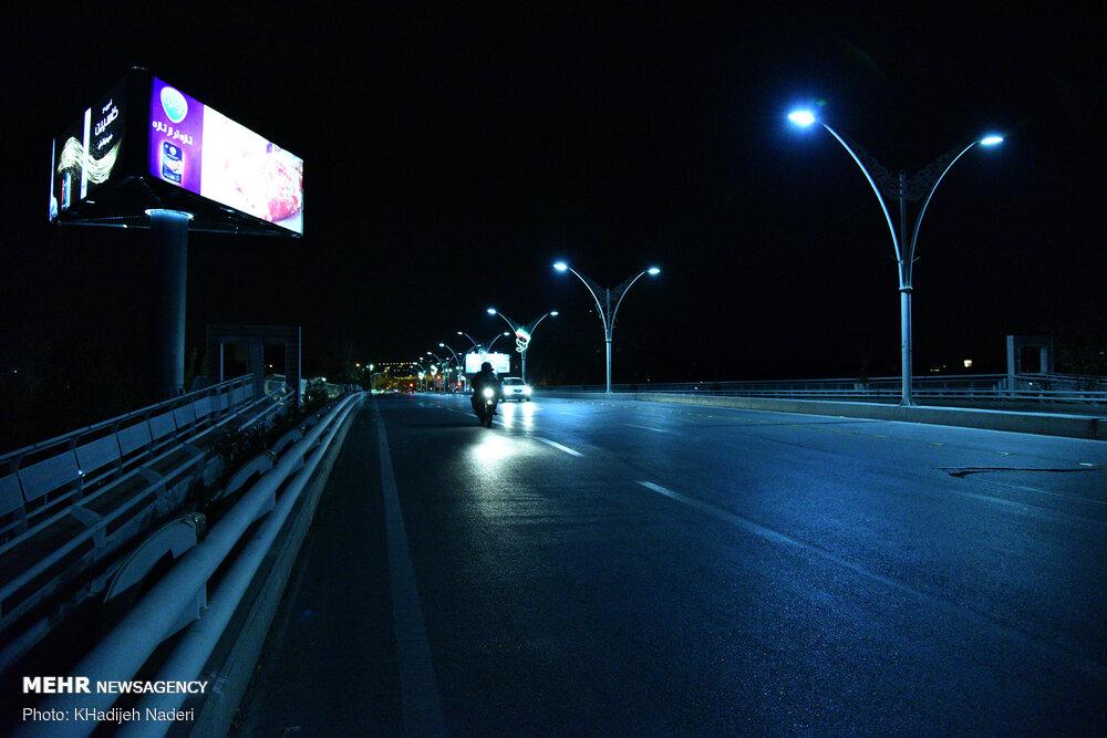 تداوم محدودیت تردد شبانه در تبریز بسته به تصمیم ستاد کرونا است