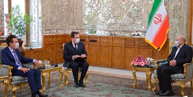 قالیباف: دخالت اروپا در اجرای قانون از سوی دولت ایران تعجببرانگیز بود