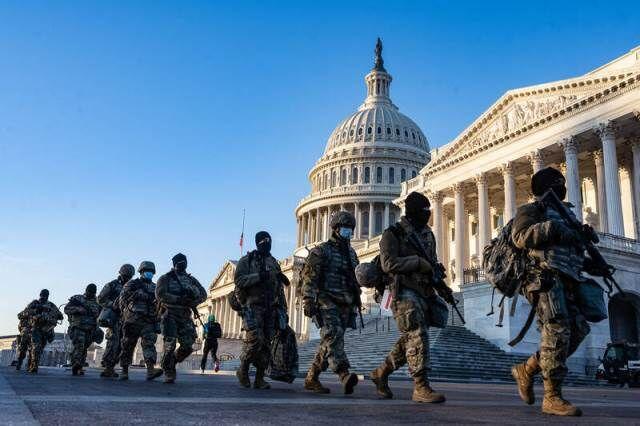 هزاران گارد ملی در واشنگتن مستقر میشوند