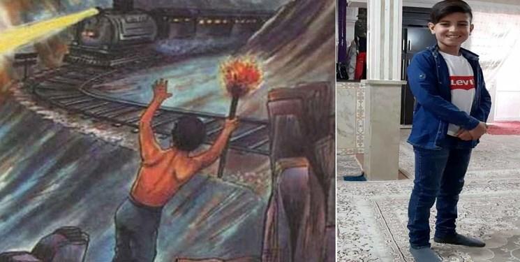 تکرار دهقان فداکار/ پسر دانشآموز از حادثه خروج قطار از ریل تهران-مشهد جلوگیری کرد