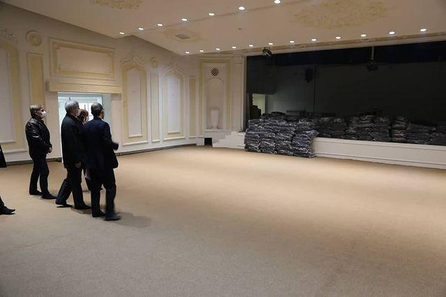 بازدید میدانی مدیرکل جدید فرهنگ و ارشاد اسلامی آذربایجان شرقی از تئاتر شهر تبریز