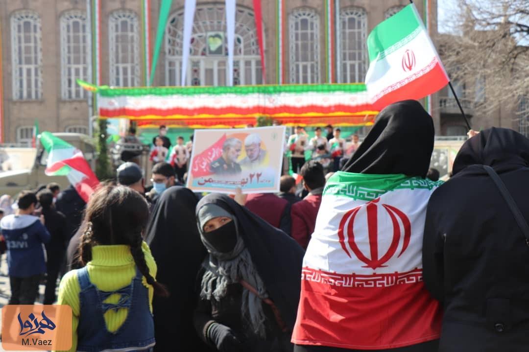 گزارش تصویری از مراسم بزرگداشت بیست و دوم بهمن در تبریز