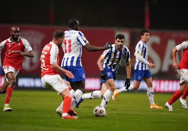 جام حذفی پرتغال؛ تساوی پورتو مقابل براگا با گلزنی طارمی