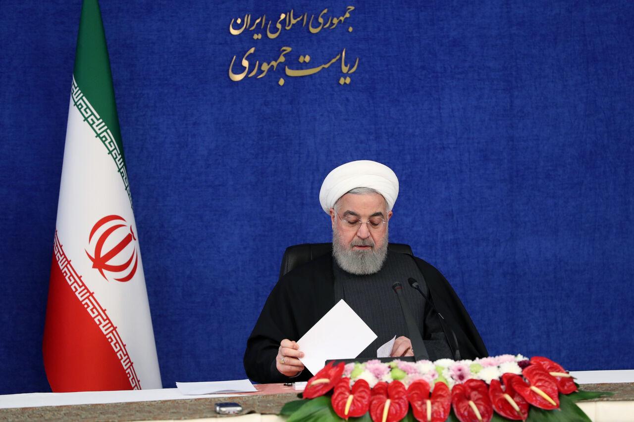 روحانی: آنچه از آمریکا می خواهیم عمل به قانون و اجرای تعهدات است