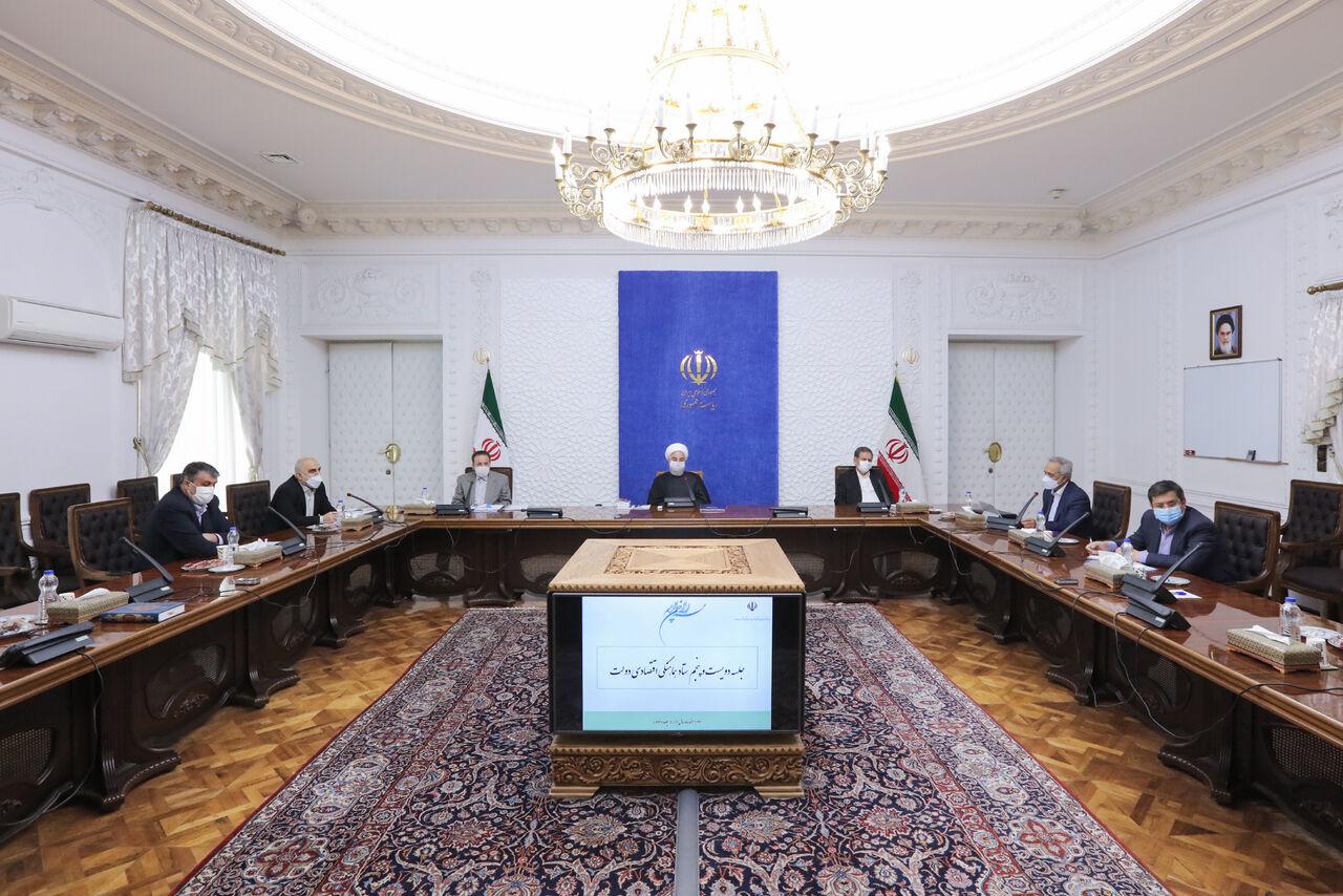 روحانی: مدیریت درآمد و هزینه بودجه سال ۹۹ در شرایط جنگ اقتصادی حاصل شد