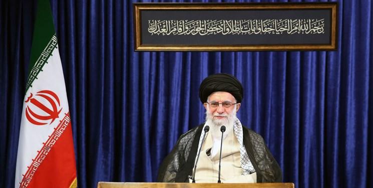رهبر معظم انقلاب: سنگینترین مسئولیت عالم بر دوش پیامبر اعظم(ص) نهاده شد/ اسلام سیاسی در نظام اسلامی ایران تحقق پیدا کرده است