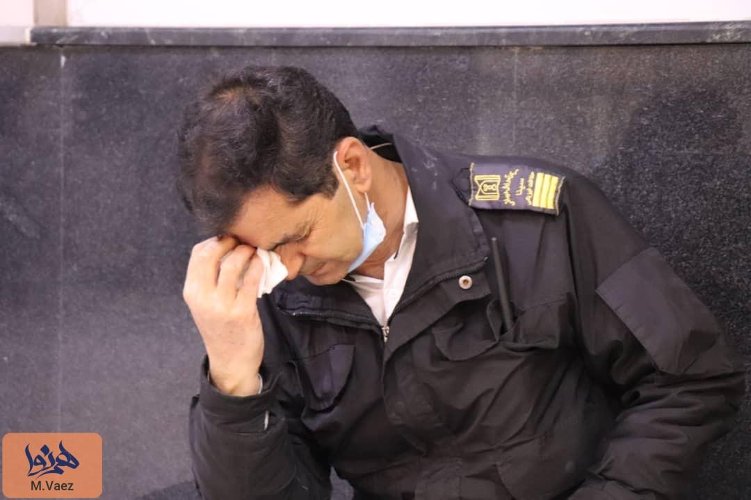 گزارش تصویری از مصدومان حوادث چهارشنبه آخر سال از بیمارستان سینای تبریز