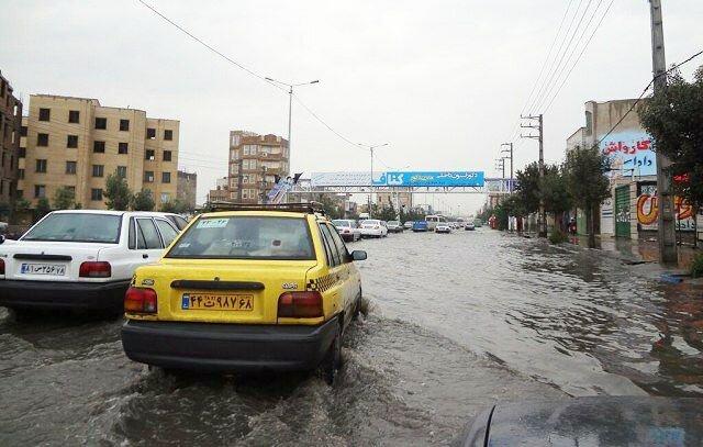 احتمال سیلابی شدن مسیلهای سطح شهر تبریز در اوایل هفته آتی