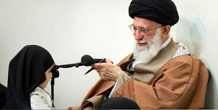 روایتی از شیرینزبانیهای «حنانه» در دیدار با رهبر انقلاب