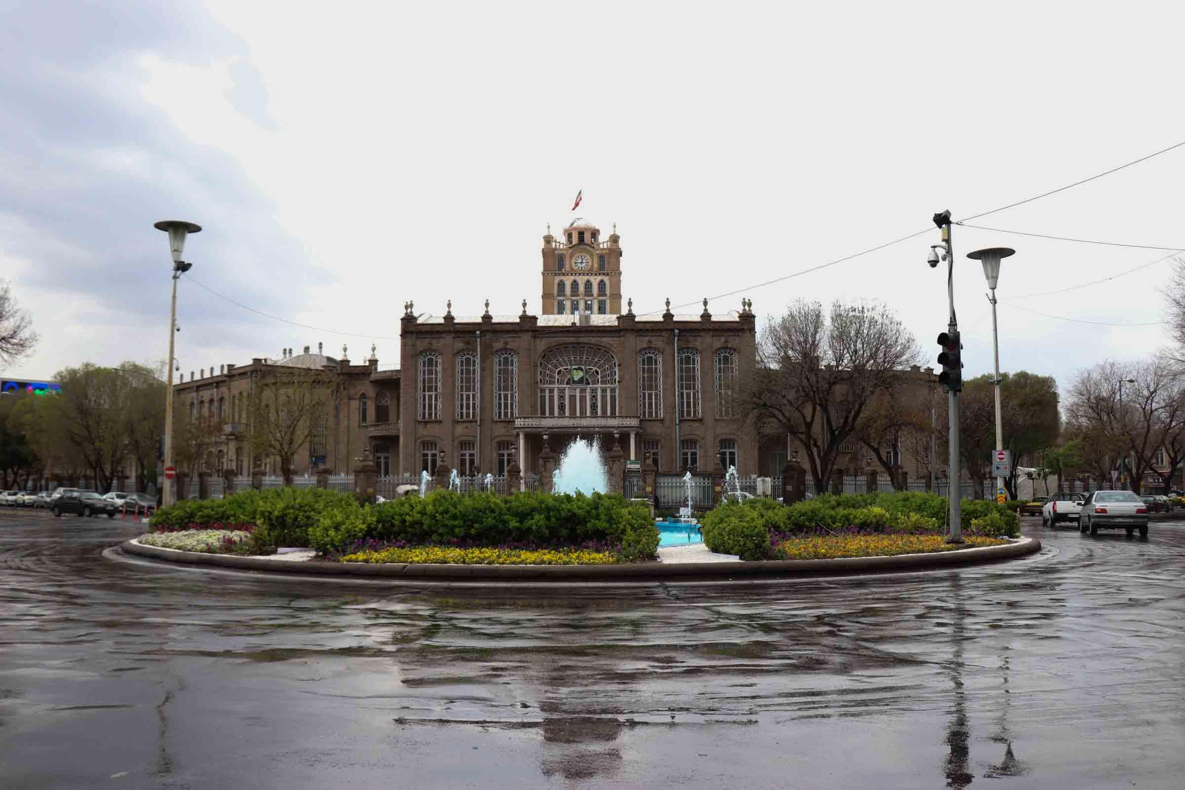 قرنطینه شهر در روزهای بارانی