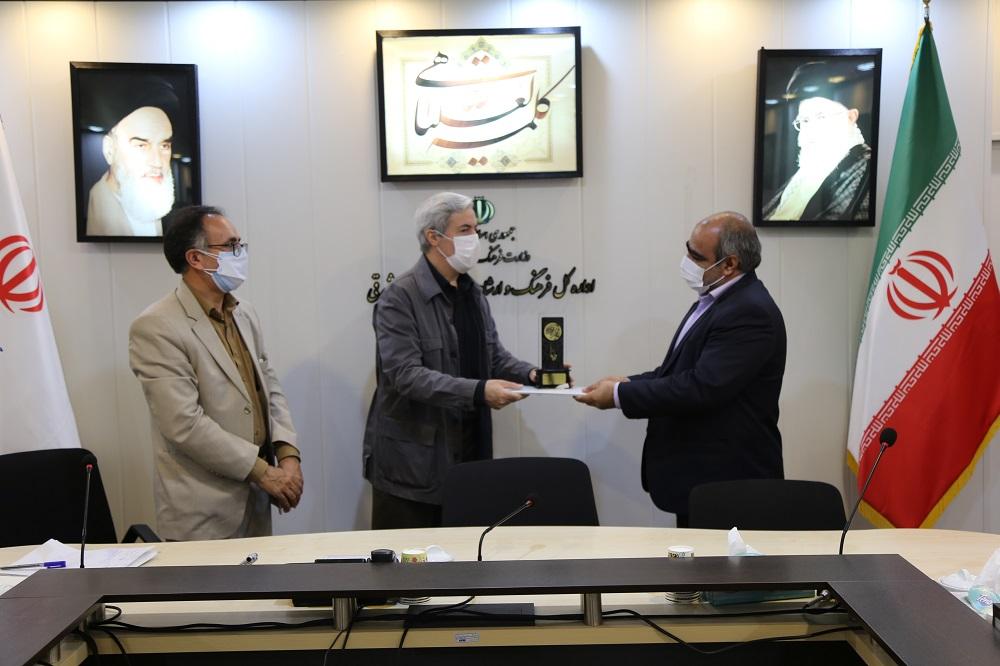 تجلیل از کانون برگزیده استان در رویداد ملی فهما