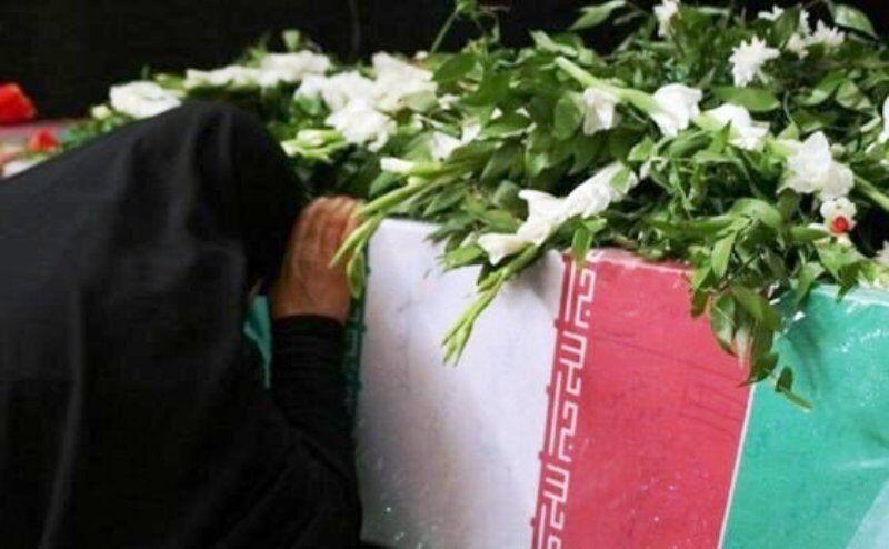 پیکر مطهر دارنده نشان ملی «ایثار» در تبریز تشییع شد