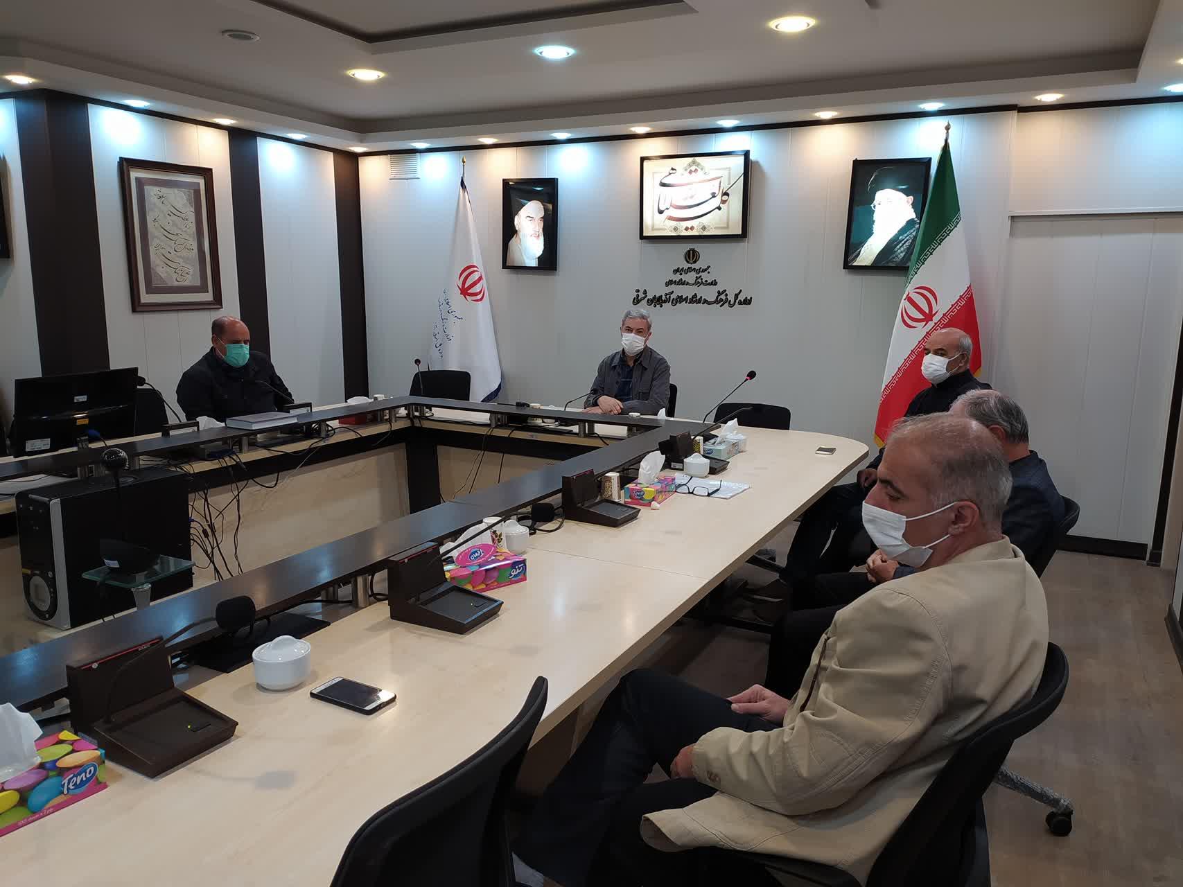 دیدار مدیرکل فرهنگ و ارشاد اسلامی استان با هیات مدیره انجمن سینماگران