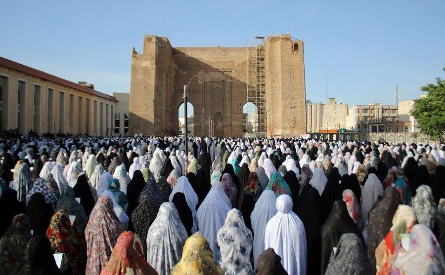 نماز عید فطر در فضای باز اطراف مصلی تبریز برگزار میشود
