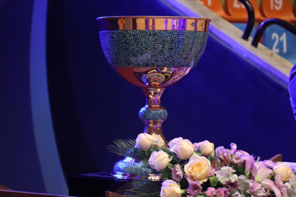 مراسم ۴امین قهرمانی متوالی مس سونگون در لیگ برتر