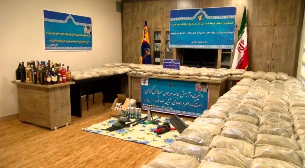 انهدام باند بزرگ ترانزیت مواد مخدر در تبریز