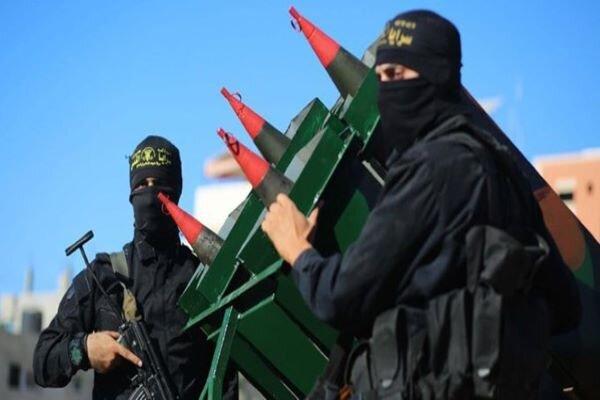 رونمایی از موشک «قاسم» در غزه/فیلم