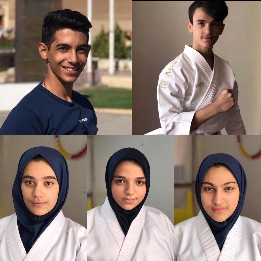مسابقات قهرمانی کاراته دانش آموزی استان آذربایجان شرقی