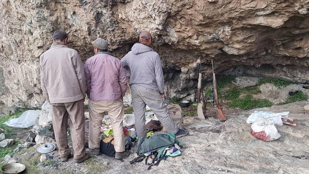 دستگیری ۳ شکارچی غیرمجاز در آذربایجان شرقی