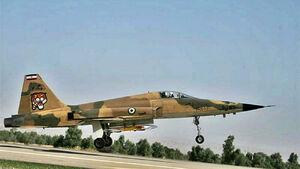 شهادت ۲ خلبان هواپیمای اف ۵ در دزفول
