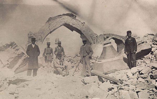 زلزله های تبریز تا سال ۱۳۶۷