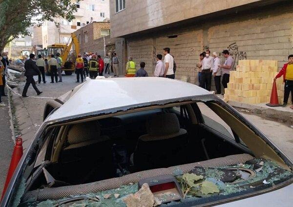 انفجار گاز در تبریز یک کشته و دو مصدوم برجای گذاشت