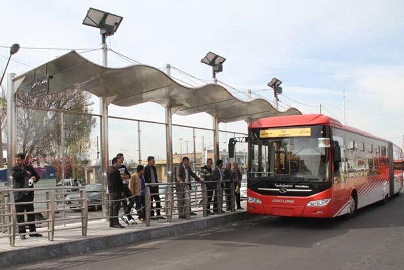 مسافران ناوگان اتوبوسرانی تبریز ۴۰ تا ۵۰ درصد کاهش یافته است