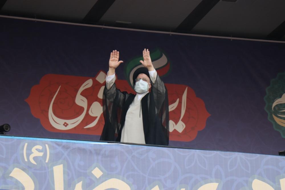 همایش بزرگ ایران قوی با حضور حجت السلام والمسلمین آقای رئیسی