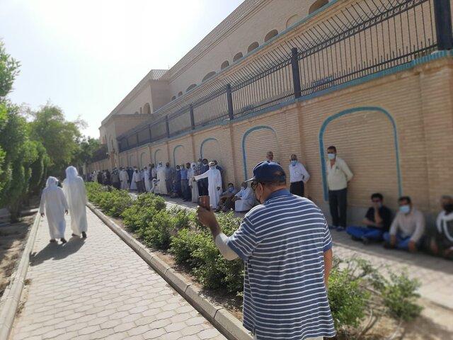 حضور پرتعداد ایرانیان مقیم کویت در انتخابات