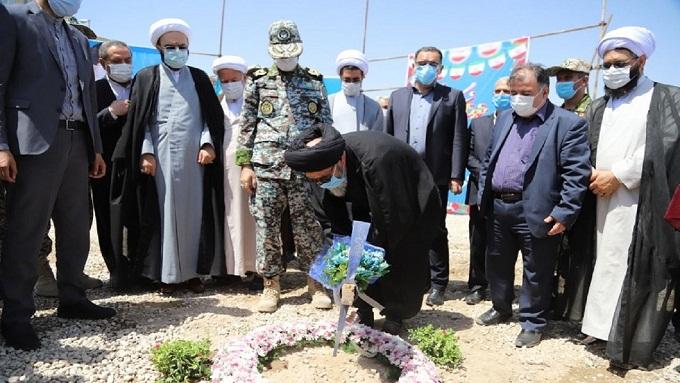 کلنگزنی درمانگاه شهری خیّرساز مرحوم مقیمی در تبریز